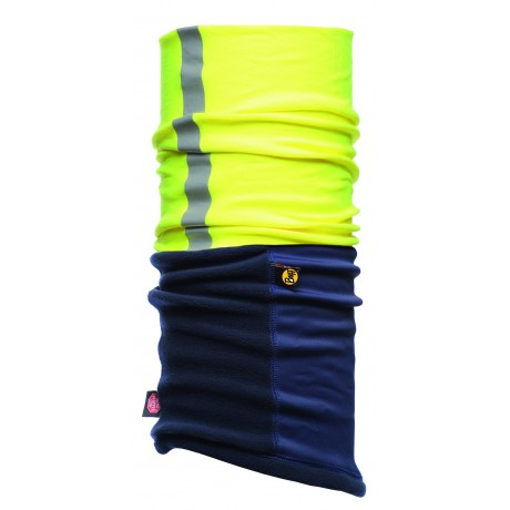 BRAGA AMARILLA POLAR MULTIFUNCIONAL BUFF® WINDSTOPPER CON REFLECTANTE
