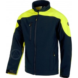 CHAQUETA BICOLOR WORK SHELL