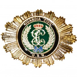 PLACA METALICA GUARDIA CIVIL GAR
