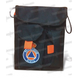 PORTA INSTRUMENTAL SCOUT PROTECCION CIVIL