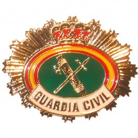 PLACA METALICA GUARDIA CIVIL