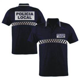 POLO AZUL M/C POLICIA LOCAL
