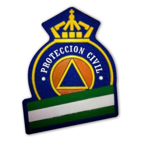 ESCUDO GORRA PROTECCIÓN CIVIL ANDALUCIA
