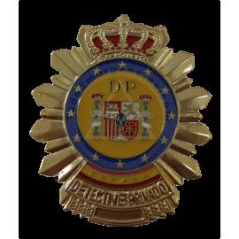 PLACA METALICA DETECTIVE PRIVADO