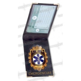 PACK TE CARTERA EMERGENCIAS + PLACA TES