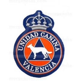 ESCUDO PROTECCION CIVIL UNIDAD CANINA VALENCIA