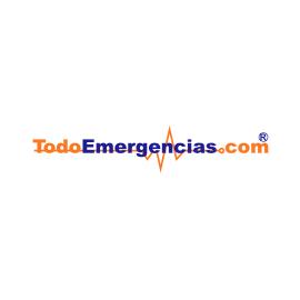 PEGATINA TodoEmergencias.com TRANSPARENTE