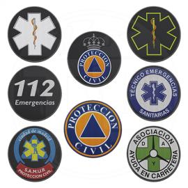 PARCHE 112 EMERGENCIAS (UD) CON VELCRO PACK