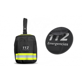 PERNERA EMERGENCIAS REFLECT3 AMARILLO VELCRO HEMBRA PARCHE 112 EMERGENCIAS