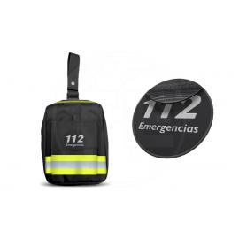 PERNERA EMERGENCIAS REFLECT3 AMARILLO VELCRO HEMBRA PARCHE 112 EMERGENCIAS