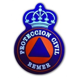 ESCUDO PROTECCION CIVIL REMER CORONA