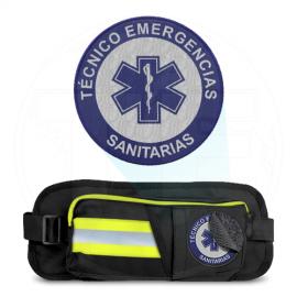 RIÑONERA EMERGENCIAS REFLECT3 REF. AMARILLO PARCHE T.E.S.