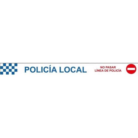 CINTA BALIZAR POLICIA LOCAL 200 METROS
