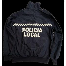 CHAQUETA IMPERMEABLE AZUL POLICÍA