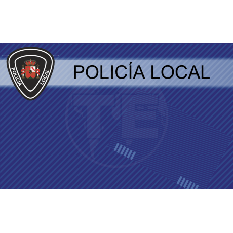 TARJETA EMERGENCIAS PVC POLICIA 3