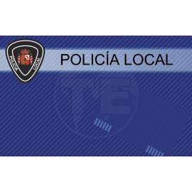 TARJETA EMERGENCIAS BANDA PVC POLICIA 3