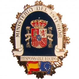 PLACA METALICA MINISTERIO DEL INTERIOR
