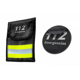 PORTA INSTRUMENTAL REFLECT3 AMARILLO PARCHE 112 EMERGENCIAS