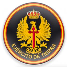IMÁN EJERCITO TIERRA REDONDO