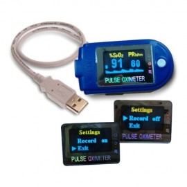 PULSIOXIMETRO EMERGENCIAS DEDO OLED CON USB
