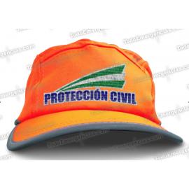 GORRA ALTA VISIBILIDAD PROTECCIÓN CIVIL ANDALUCÍA