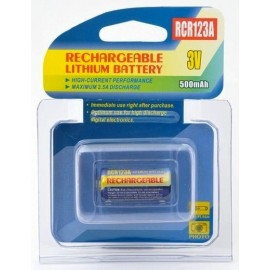 PILA CR123A RECARGABLE
