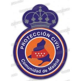 ESCUDO PROTECCIÓN CIVIL MADRID
